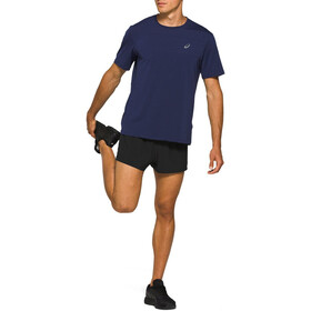 asics Road Split Shorts Hombre, performance black